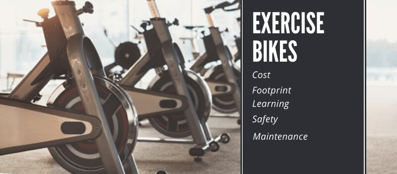 spin bikes in a gym