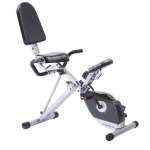 Exerpeutic 400XL Folding Recumbent Exercise Bike