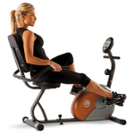 Marcy ME-709  Magnetic Recumbent Exercise Bike