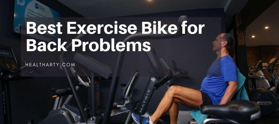 best exercise bike for back problems