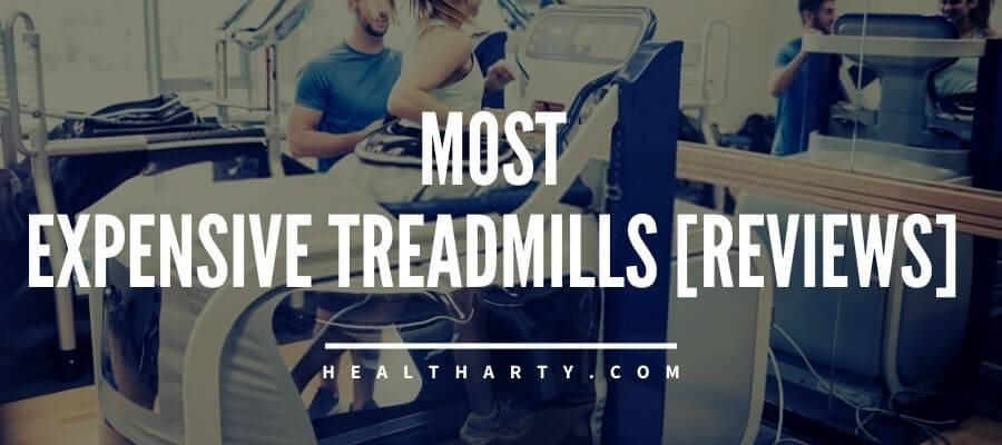 A woman running on a anti gravity treadmill- the most Most Expensive Treadmills in the world