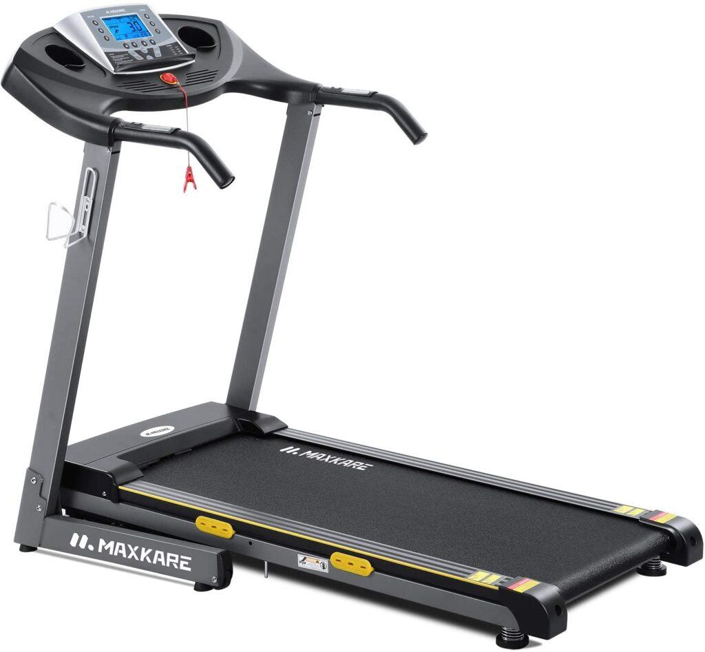 MaxKare Folding Treadmill-best value low profile treadmill