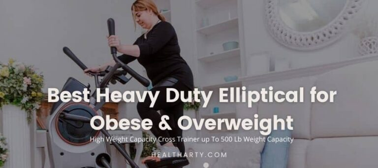 10 Best Heavy Duty Elliptical for Obese & Overweight [2021] – High Weight Capacity