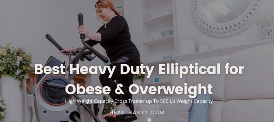 Best heavy duty elliptical - feature image