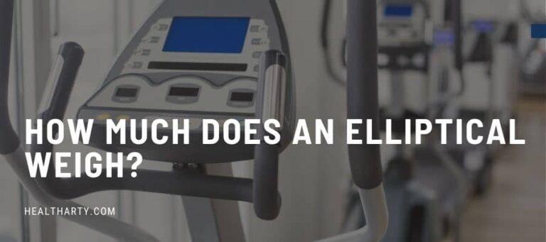 How Much Does an Elliptical Weigh?