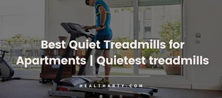 Best quiet treadmills for apartment buildings -feature image